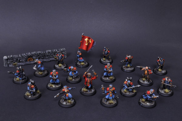 Company Of Iron Khador painted by Rafal Maj (BloodyBeast.com)