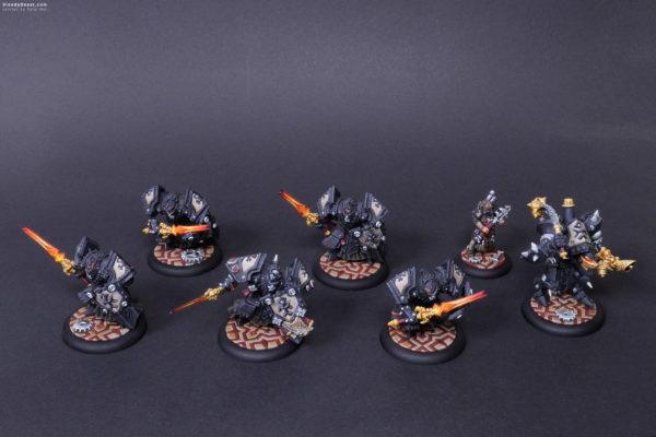 Company Of Iron Menoth painted by Rafal Maj (BloodyBeast.com)