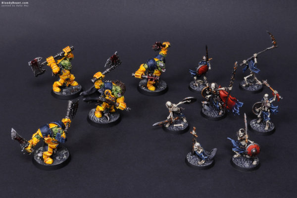Shadespire Expansion Sets painted by Rafal Maj (BloodyBeast.com)