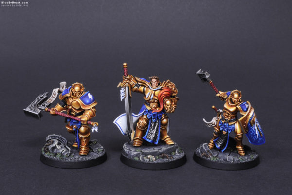 Shadespire Steelheart's Champions Front painted by Rafal Maj (BloodyBeast.com)