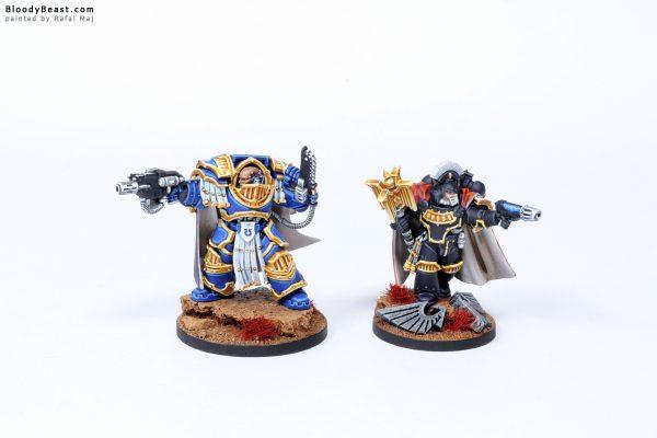 Ultramarines Captain in Terminator Armour and Chaplain 1