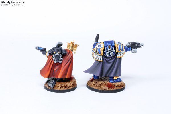 Ultramarines Captain in Terminator Armour and Chaplain 2
