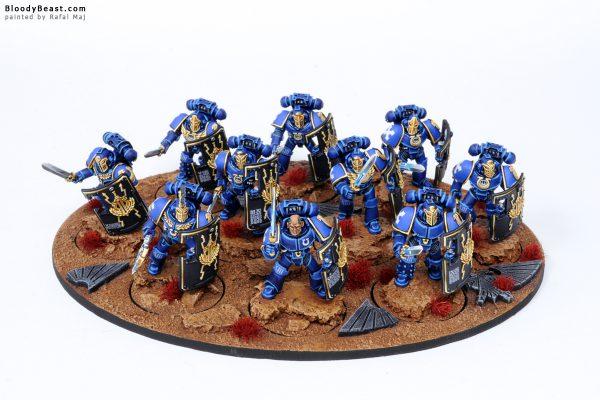 Ultramarines Legion Breacher Siege Squad 1