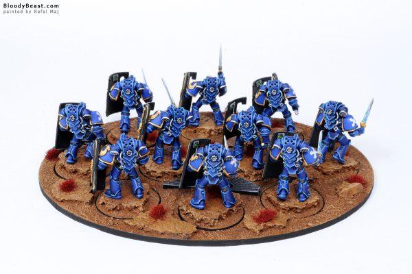 Ultramarines Legion Breacher Siege Squad 4
