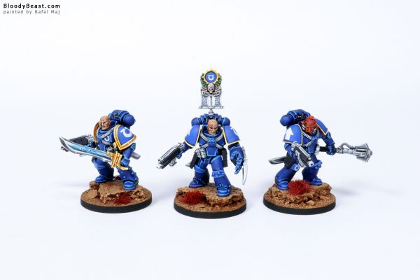 Ultramarines Space Marines in Mark IV Power Armour 2