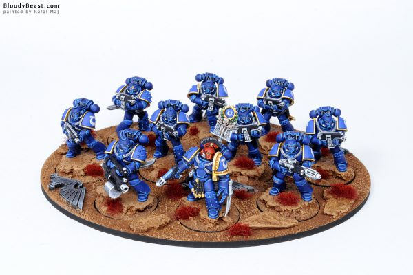 Ultramarines Legion Tactical Space Marines in MK4 Armour 1
