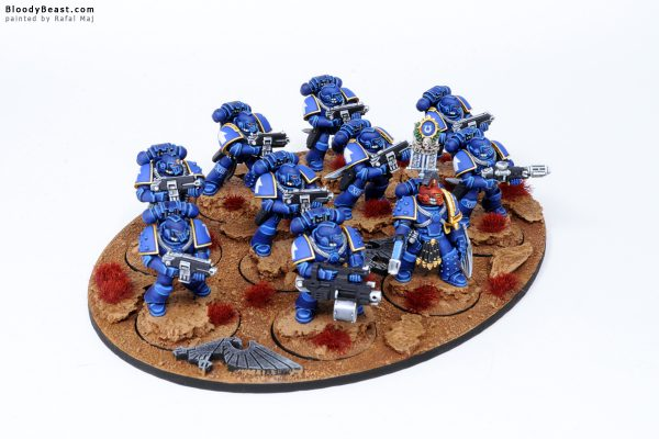 Ultramarines Legion Tactical Space Marines in MK4 Armour 2