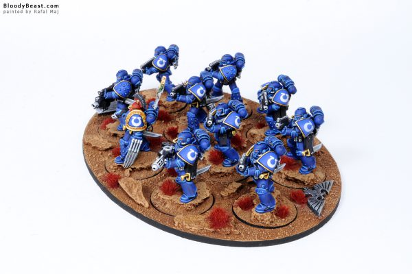 Ultramarines Legion Tactical Space Marines in MK4 Armour 3