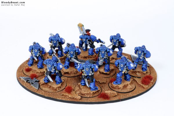 Ultramarines Legion Tactical Space Marines in MK4 Armour 4