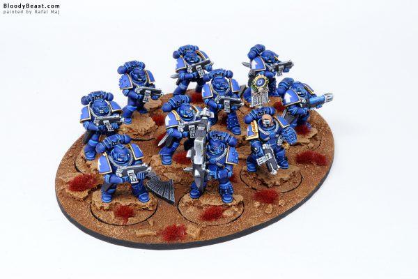 Ultramarines Legion Tactical Space Marines in MK4 Armour 6