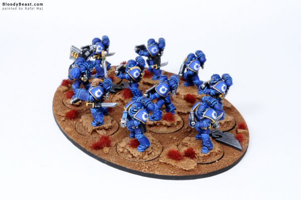 Ultramarines Legion Tactical Space Marines in MK4 Armour 7