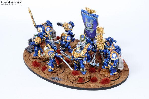 Ultramarines Veteran Squad 3