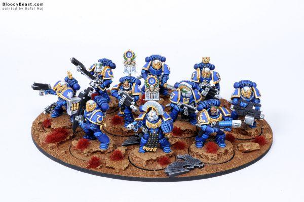 Ultramarines Veteran Squad 5