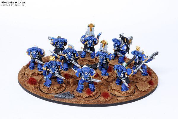 Ultramarines Veteran Squad 8