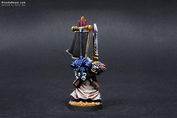Dark Angels Grand Master of Librarians Ezekiel 4