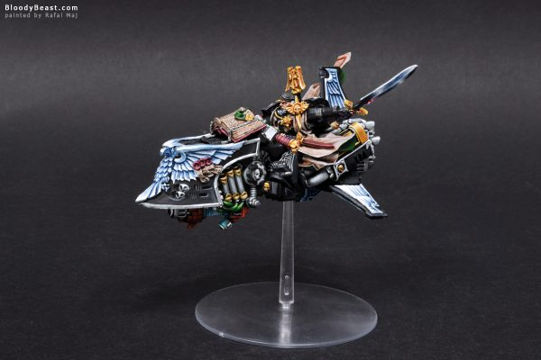 Dark Angels Ravenwing Grand Master Sammael 1