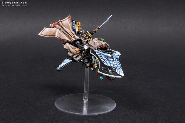 Dark Angels Ravenwing Grand Master Sammael 3