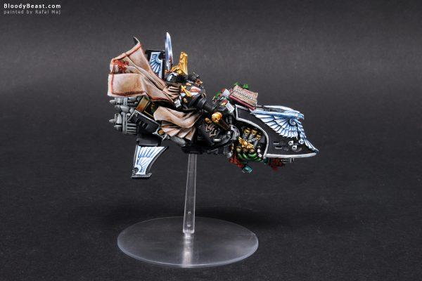 Dark Angels Ravenwing Grand Master Sammael 4
