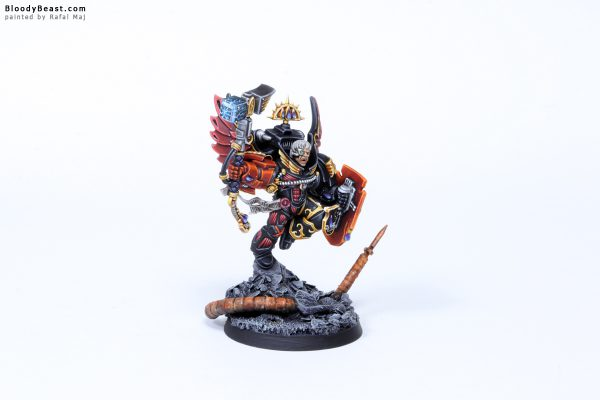 Blood Angels Death Company Captain Luther 1