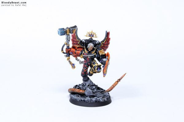 Blood Angels Death Company Captain Luther 2