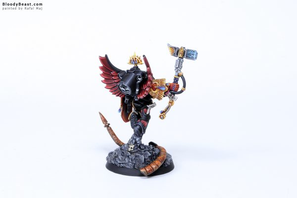 Blood Angels Death Company Captain Luther 7
