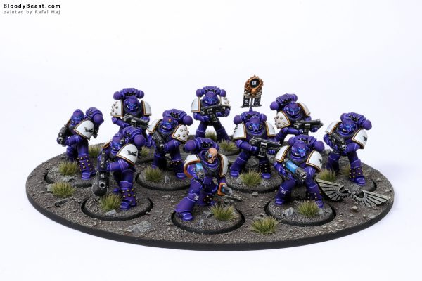 Horus Heresy Emperor's Children Space Marines 1