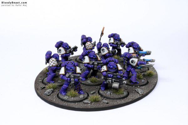 Horus Heresy Emperor's Children Space Marines 3