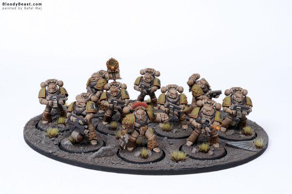 Horus Heresy Death Guard Space Marines 1