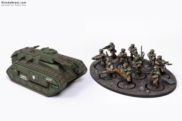 Astra Militarum Mobile Shock Troopers