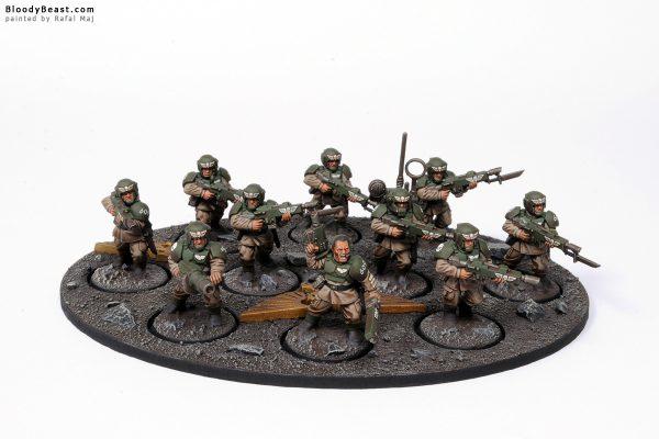 Astra Militarum Cadian Shock Troops 1