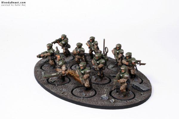 Astra Militarum Cadian Shock Troops 4