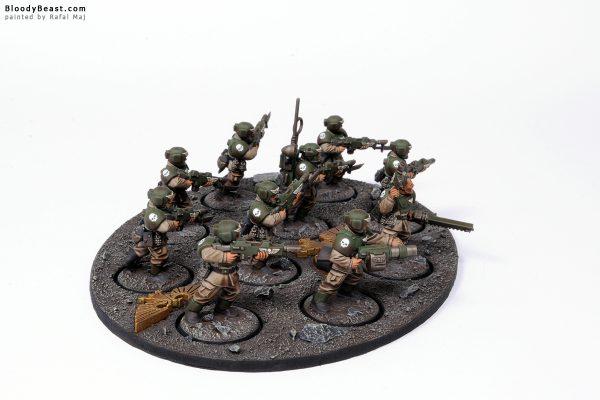 Astra Militarum Cadian Shock Troops 3
