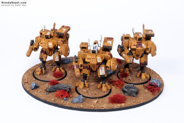 Tau XV8 Crisis Battlesuit Team 2