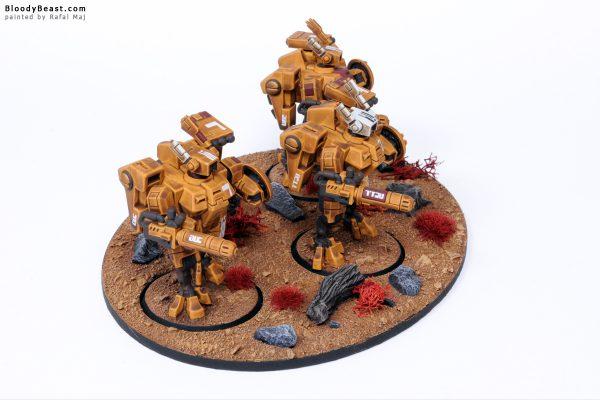 Tau XV8 Crisis Battlesuit Team 4