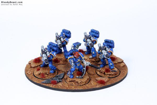 Ultramarines Devastator Lascannon Squad 1