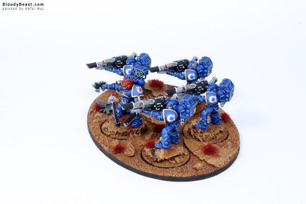 Ultramarines Devastator Lascannon Squad 2