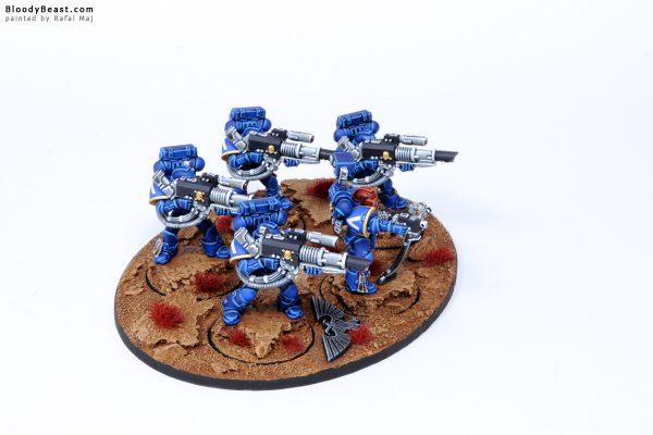 Ultramarines Devastator Lascannon Squad 3