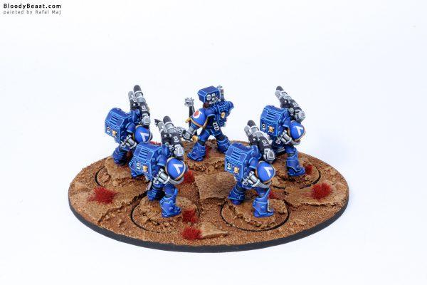 Ultramarines Devastator Lascannon Squad 4