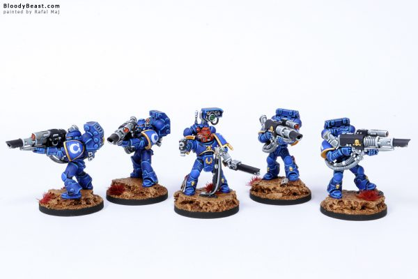 Ultramarines Devastator Lascannon Squad 5