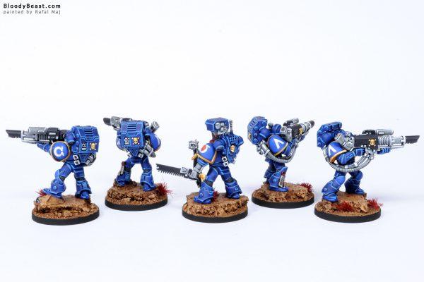Ultramarines Devastator Lascannon Squad 6