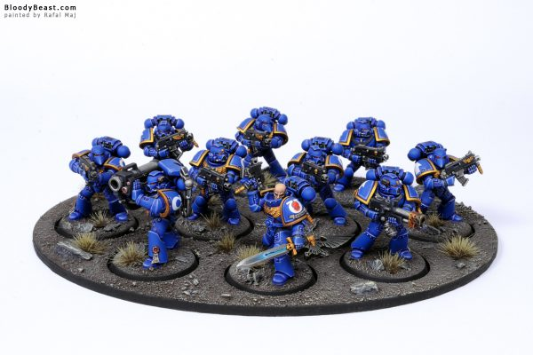 Ultramarines Tactical Squad 1