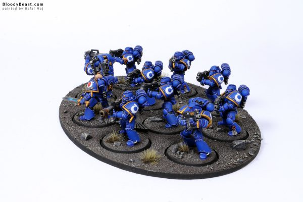 Ultramarines Tactical Squad 4