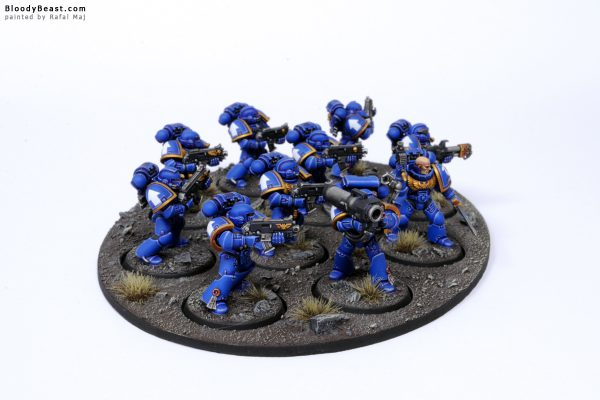 Ultramarines Tactical Squad 3