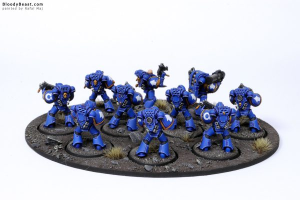 Ultramarines Tactical Squad 2