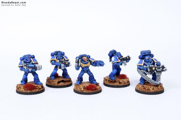 Ultramarines Tactical Squad 5