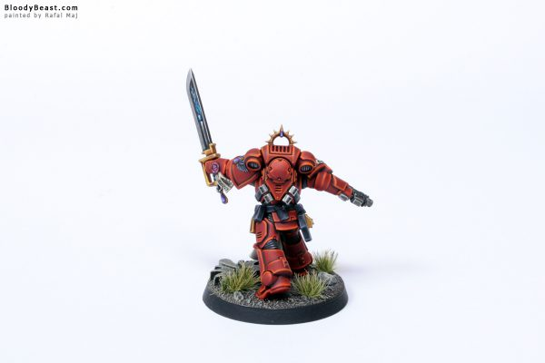 Blood Angels Primaris Lieutenant Tolmeron 6