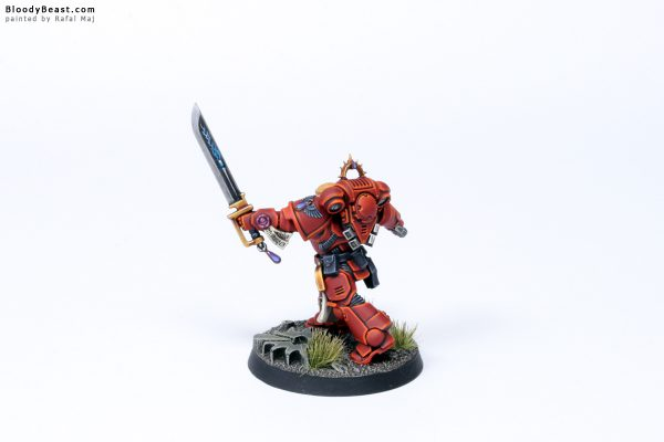Blood Angels Primaris Lieutenant Tolmeron 7