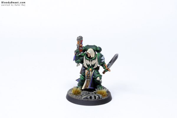 Dark Angels Primaris Lieutenant Zakariah 2