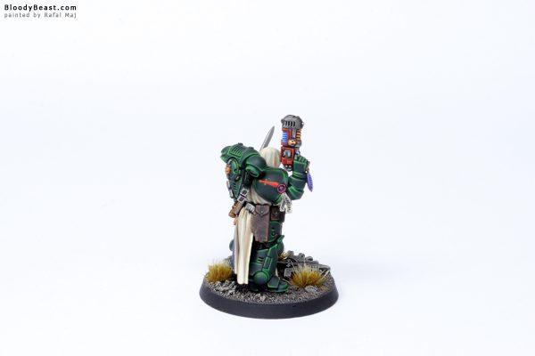 Dark Angels Primaris Lieutenant Zakariah 6