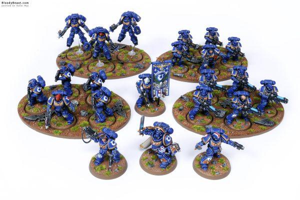 Dark Imperium Ultramarines Army